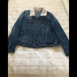 Good American oversized jean jacket